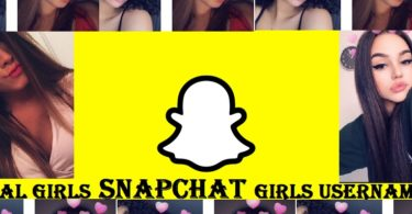 snapchat girls usernames